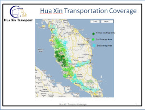 Hua Xin Transport Coverage